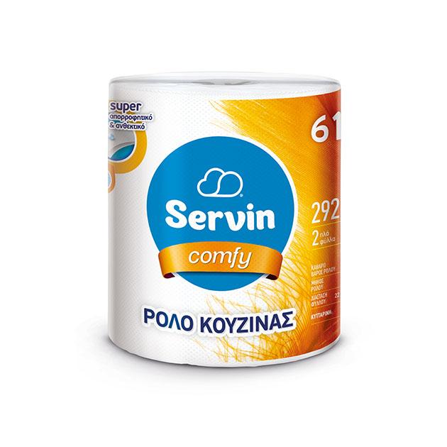 SERVIN COMFY ΡΟΛΟ ΚΟΥΖΙΝΑΣ 500g