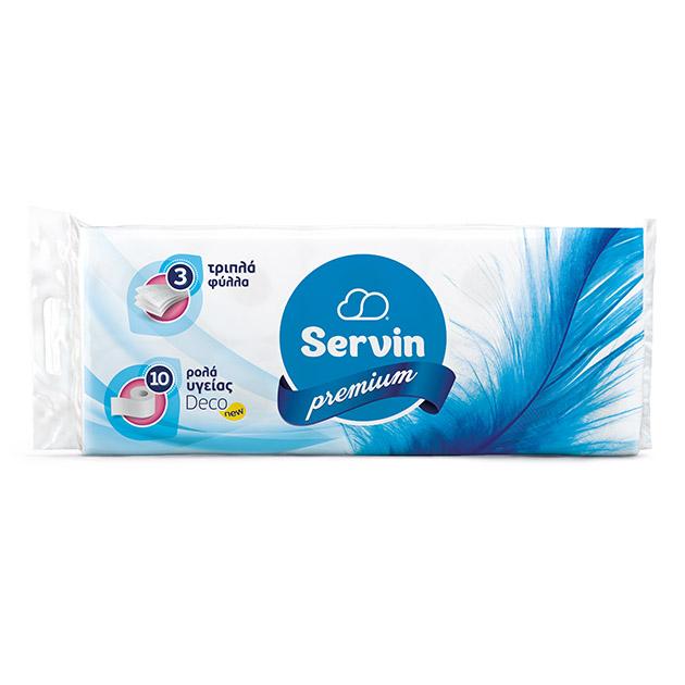 SERVIN PREMIUM XAΡΤΙ ΥΓΕΙΑΣ 3ΦΥΛΛΟ 95g
