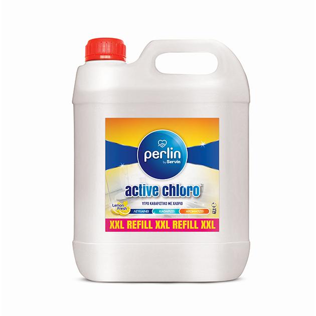 PERLIN ACTIVE CHLORO LEMON 4L